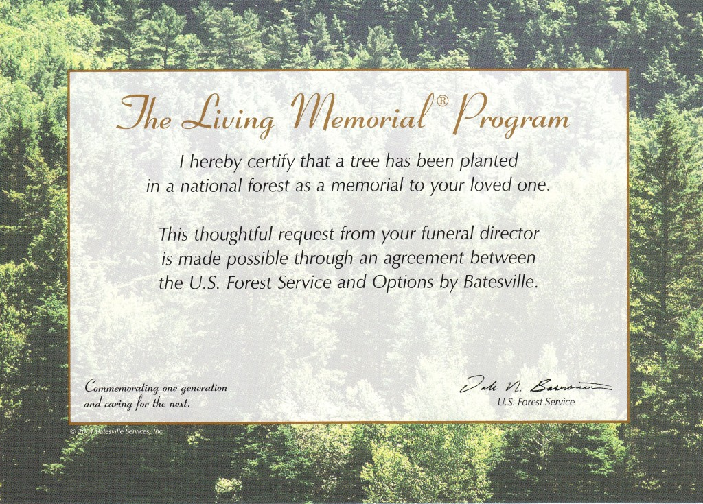 The Living Memorial Program