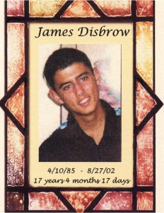 August 2002 – James Disbrow – This photo was provided to the Citrus Times for their article on the crash that caused your death. This picture validates you were young beautiful and full of life. Beverly Hills, Florida
